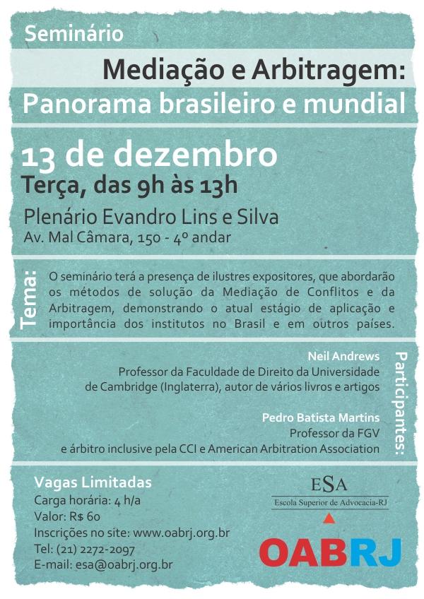 Seminrio_de_mediao_e_arbitrage