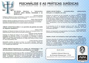 psicanálise e práticas jurídicas